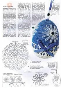 пасхальные яйца вязание крючком